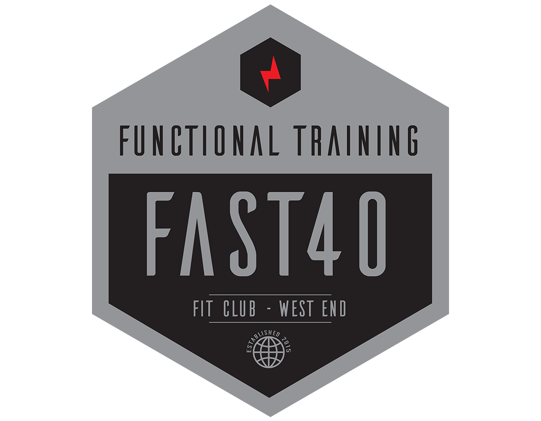 fast 40 training club logo