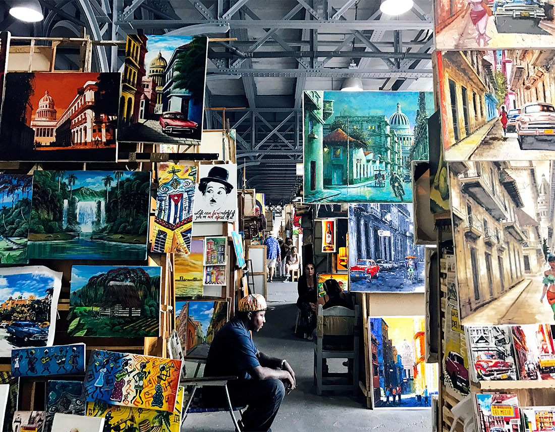 cuba art shop