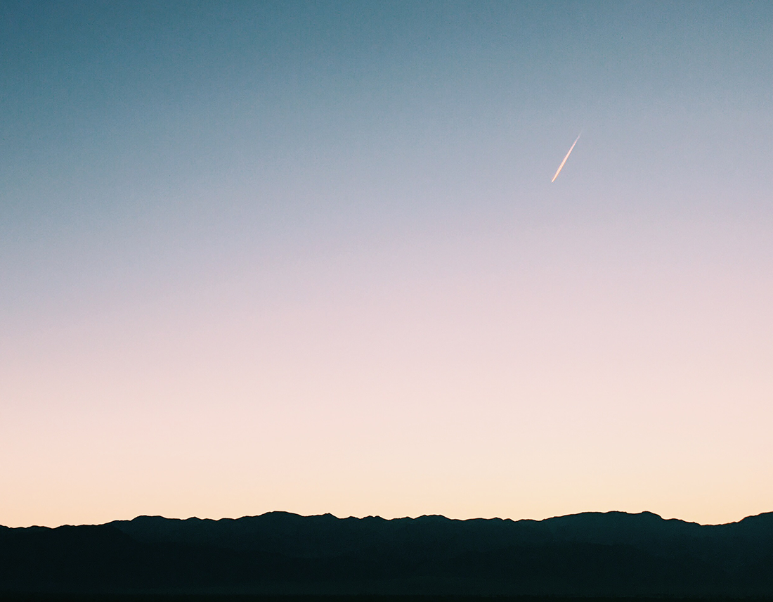 death valley shooting star